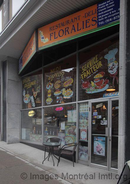 Restaurant Floralies