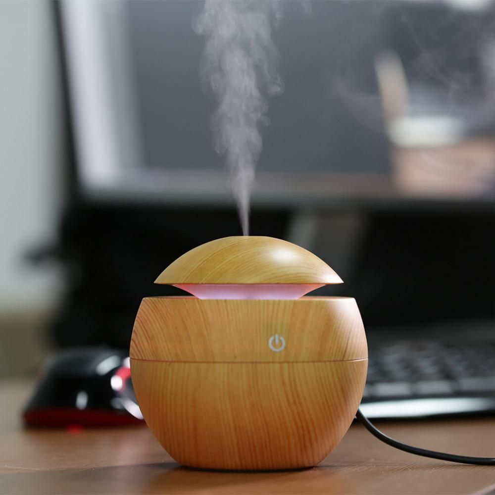Mini Voyage Diffuseur USB Air humidificateur Aroma Huile Essentielle Voiture Diffuseur