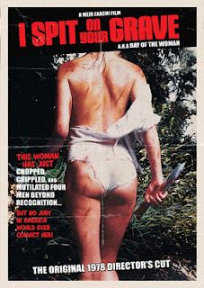 I Spit On Your Grave 1978 Horror Movie Posters Horror Dvd Feminist Movies