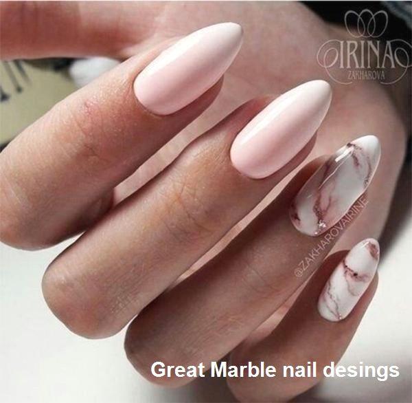 Marble Nail Art ideas