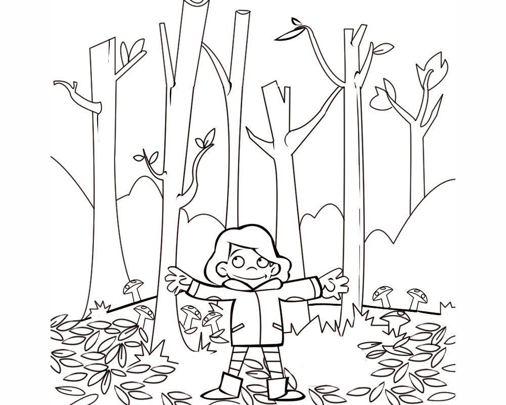 dibujo bosque - Buscar con Google | CI: el bosc | Pinterest | Dibujo ...