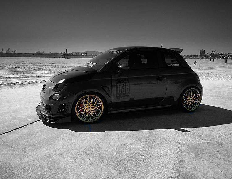 Pogea Racing Wheels Fiat 500, New fiat, Fiat abarth