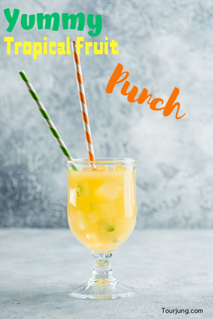 Tropical Fruit Punch for Juicers - Super Easy, Quick & Very Healthy