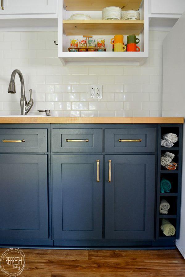 Why I Chose To Reinterpret My Kitchen Furniture Rather Than