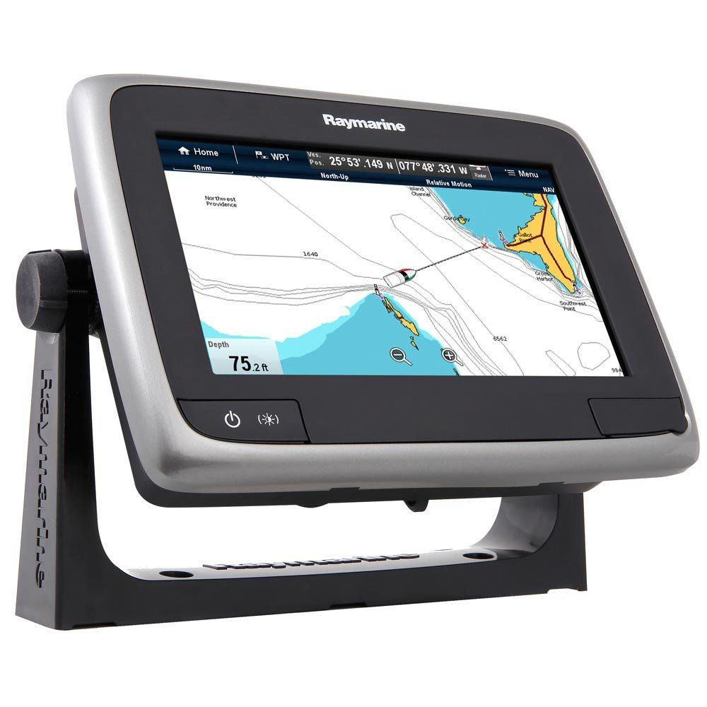 7 Zoll Raymarine E70166-US A-Serie A75 WiFi-Touch Multifunktionsdisplay 17,8 cm