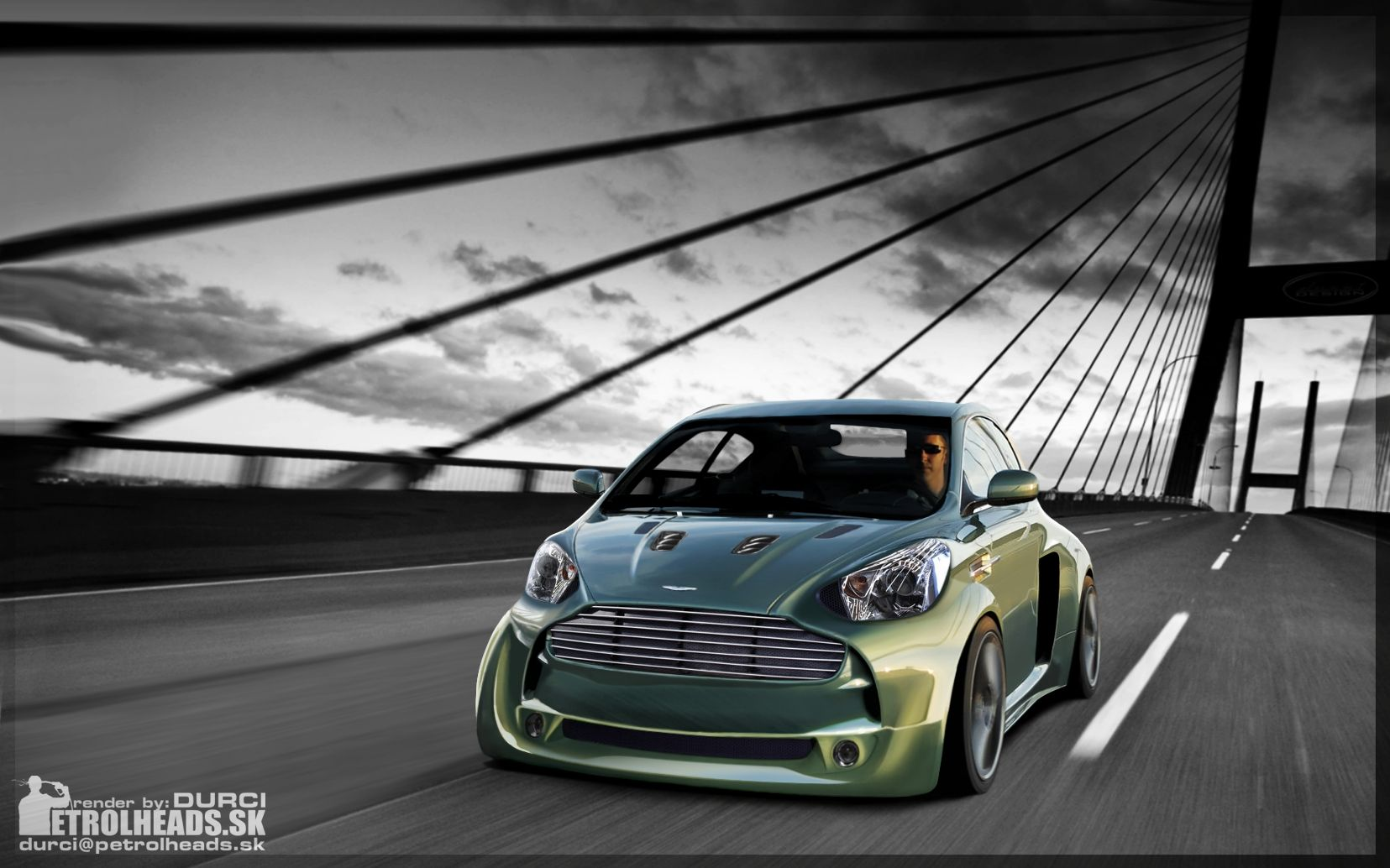 Aston Martin Cygnet V8 Durci02 On Deviant Art Cars Motorcycles