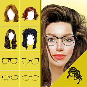 Hairstyle Changer App Virtual Makeover Women Men Android Apps On Google Play Di 2020