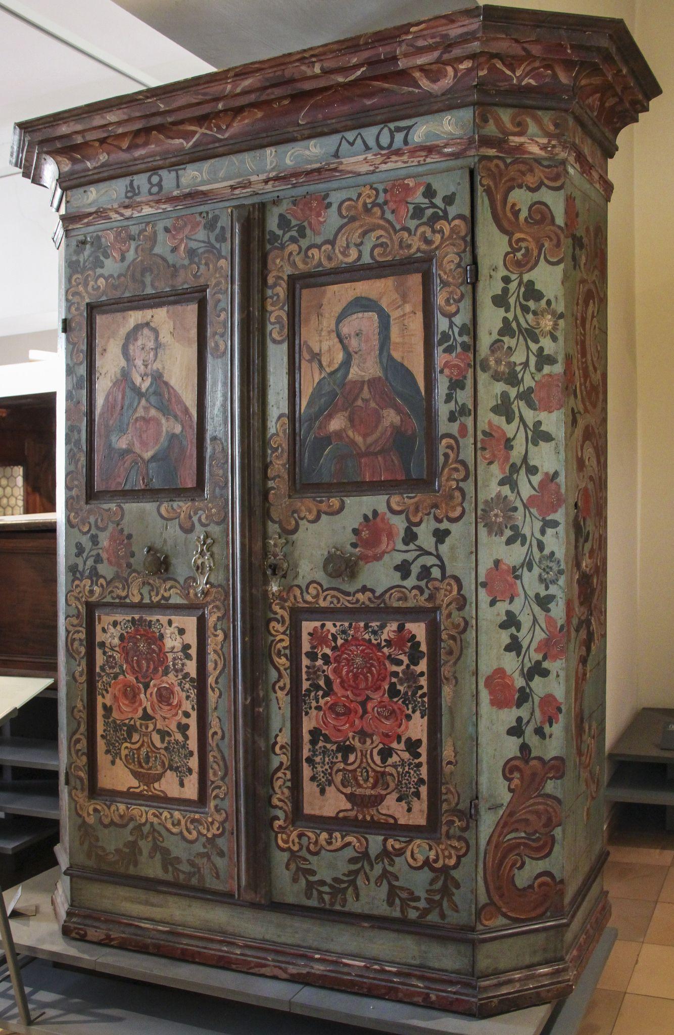 Volkskundemuseum In 2019 Painted Furniture Rustic