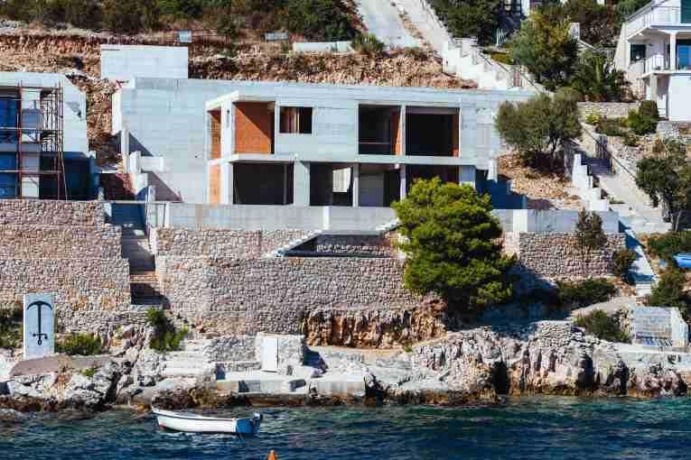 Villa Croatia at the sea with pool at Trogir Villa