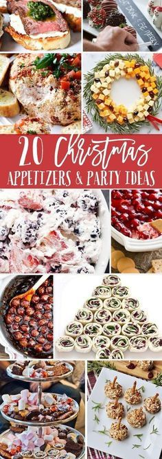 Christmas Appetizers and Party Ideas Christmas appetizers