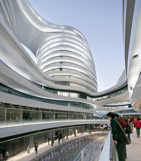 Zaha hadid architects 330 000 square meters galaxy soho for Arquitectura zaha hadid