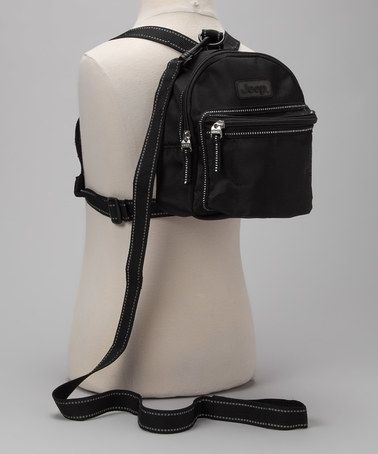 Loving this Black Three-in-One Backpack Harness on #zulily ...