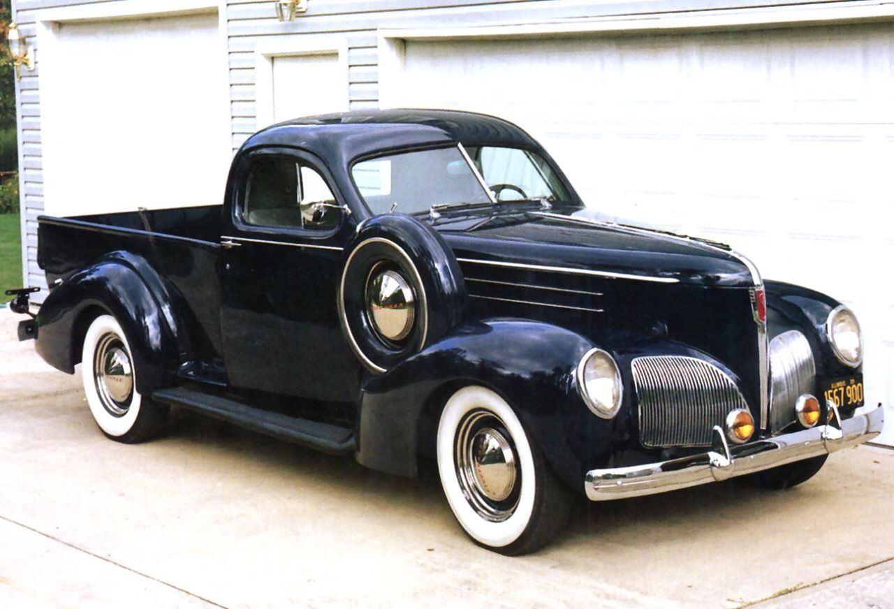 1939 studebaker coupe express pickup