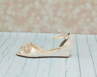wedding wedge shoes wedge wedding shoes wedges parisxox by arbie goodfellow
