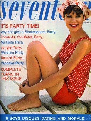 Can you believe Colleen Corby was a Seventeen cover star fourteen times between 1964 and 1969?
