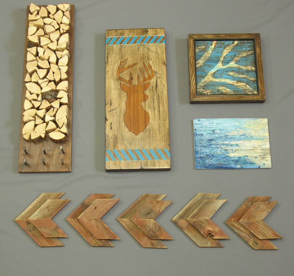 Modern Rustic Wall Decor : Wooden arrows arrowheads modern rustic wall decor