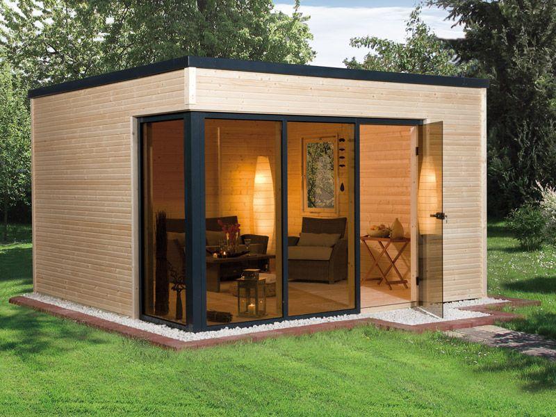 WEKA Gartenhaus CUBILIS Design gartenhaus, Weka