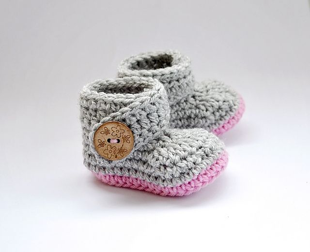 Everyday Boots pattern by Mellony Bester | Crochet zapatos ...