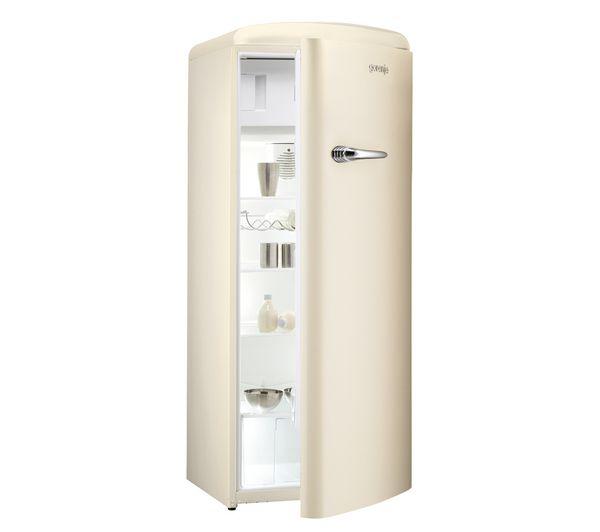 Buy GORENJE RB60299OC Tall Fridge - Cream | Free Delivery | Currys ... | {Kühlschrank retro gorenje 19}