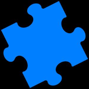 Blue Puzzle Piece Clip Art Puzzle Art Clip Art Puzzle Pieces