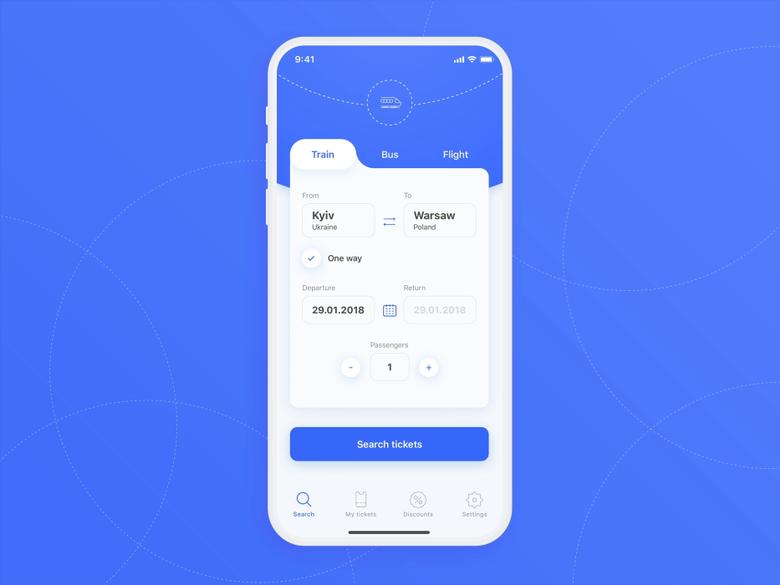 Ticket Search For Travel App Travel App Medical App App