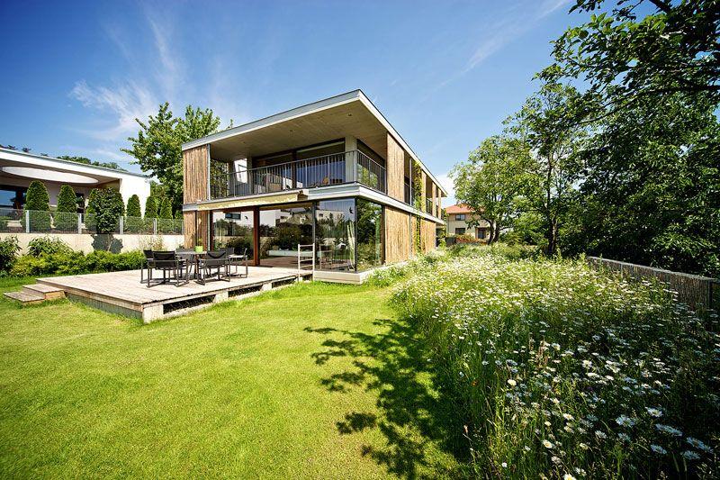 Plans du0027une maison contemporaine avec toit terrasse