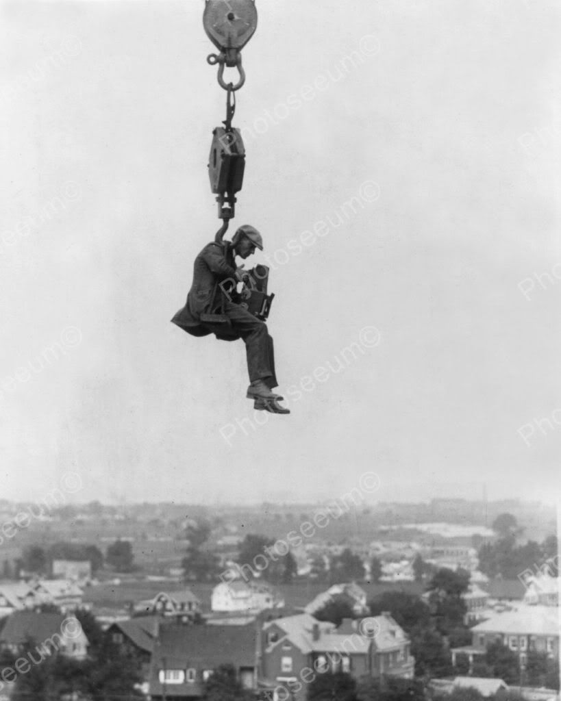 Image result for man suspended high in the air