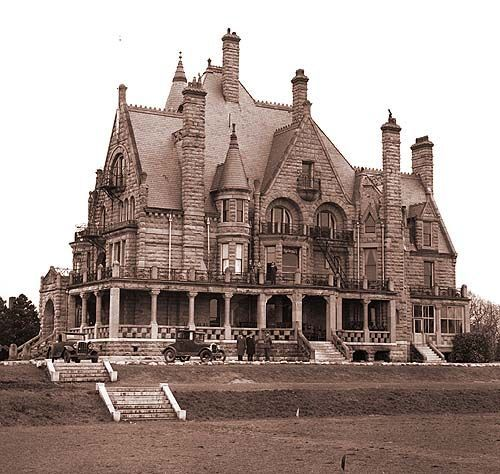 Craigdarroch Castle In Victoria, British Columbia, Is A