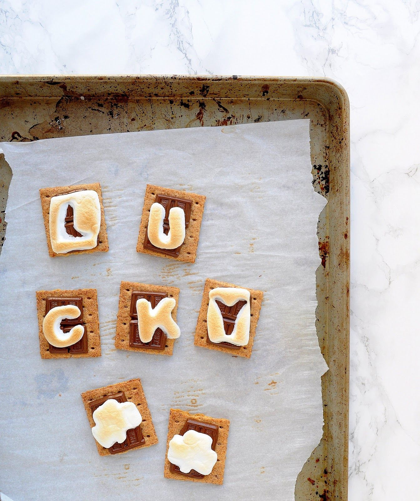 Easy St. Patrick's Day Oven S'mores