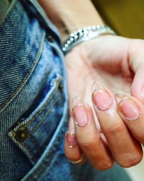 The Idea Of This Ingenious Manicure Actually Came From The Making Of