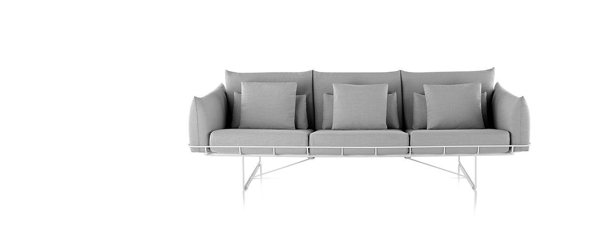 Wireframe Sofa Group   Lounge Seating   Herman Miller