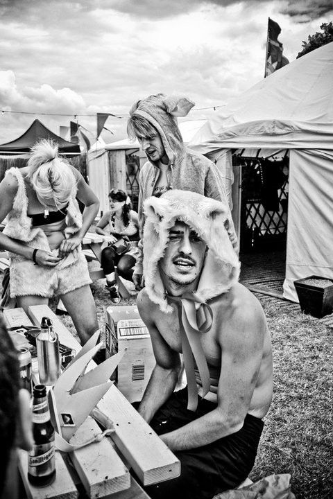 Happy Bear. Secret Garden Party (2010).