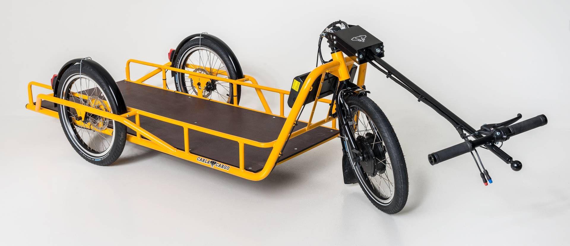 Carla Cargo Power Trailer Bicycle Fahrradanhanger 2017 1920x831 Fahrrad Lastenanhanger Fahrrad Transportanhanger Fahrrad