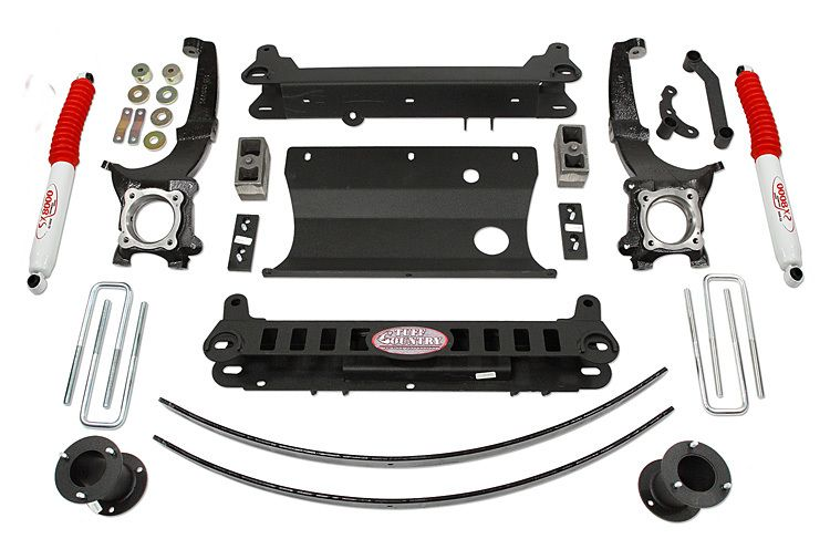 "20052012 Toyota 4x4 6"" Suspension Lift Kit (With"