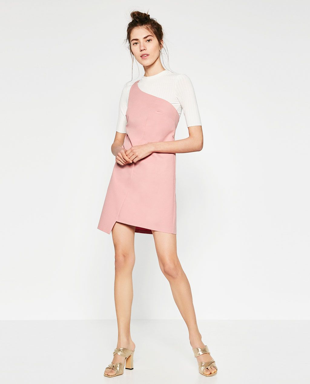 4fcbdd3efe Image 1 of ASYMMETRIC DRESS from Zara | || clothes || | Asymmetrical ...