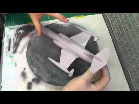 How To Use Vallejo Acrylic Polyurethane Surface Primer Plastic Models World Model Paint Vallejo Tutorial