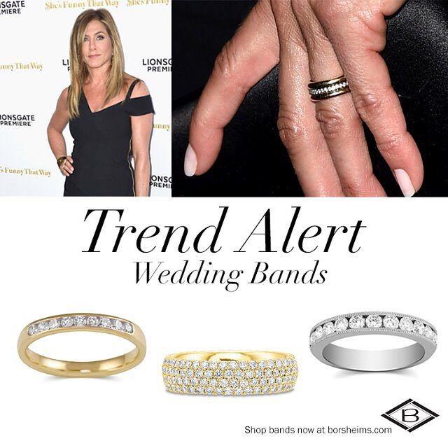 We Re Loving Jenniferanniston S Classic New Wedding Ring With