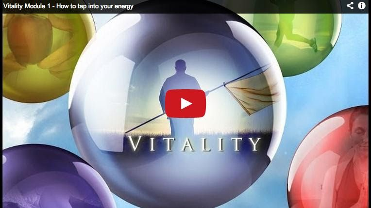 A gift of vitality for you 4 vitality modules energy