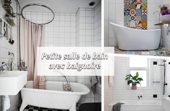 ▷ 1001 + astuces pour aménager une petite salle de bain avec