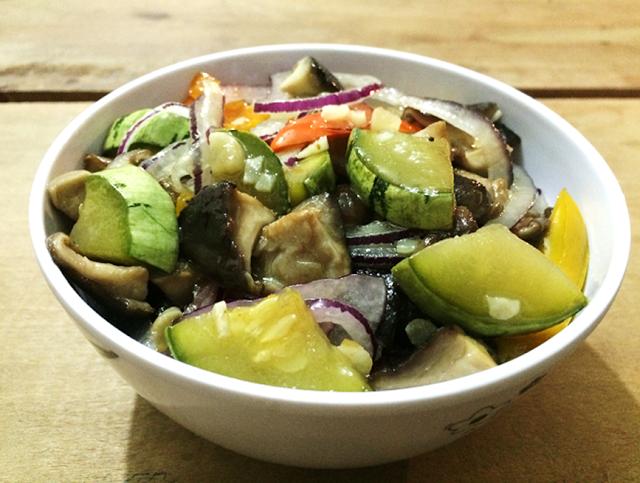 Garfo Publicitário | Blog de Gastronomia e Culinária: Antepasto de Legumes [Pimentão Doce Snack, Shitake...