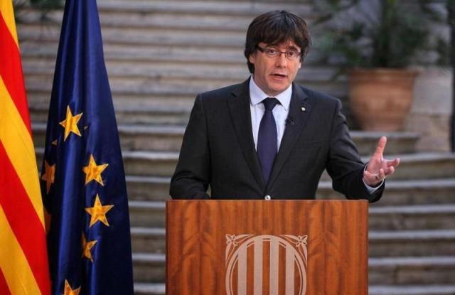 Στο Βέλγιο ο ηγέτης της Καταλονίας, μετά την άσκηση διώξεων