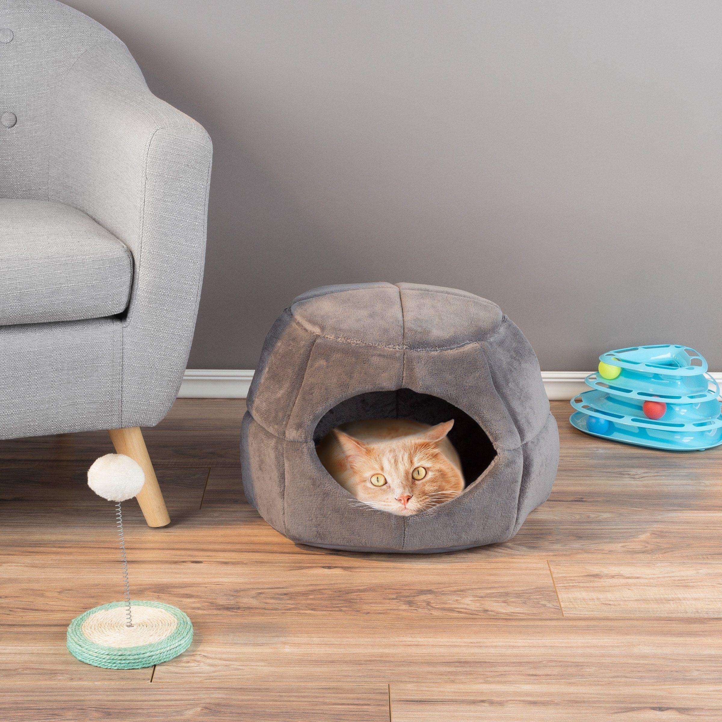 PETMAKER 2 in 1 Convertible Pet Bed Cat Kitten or Small