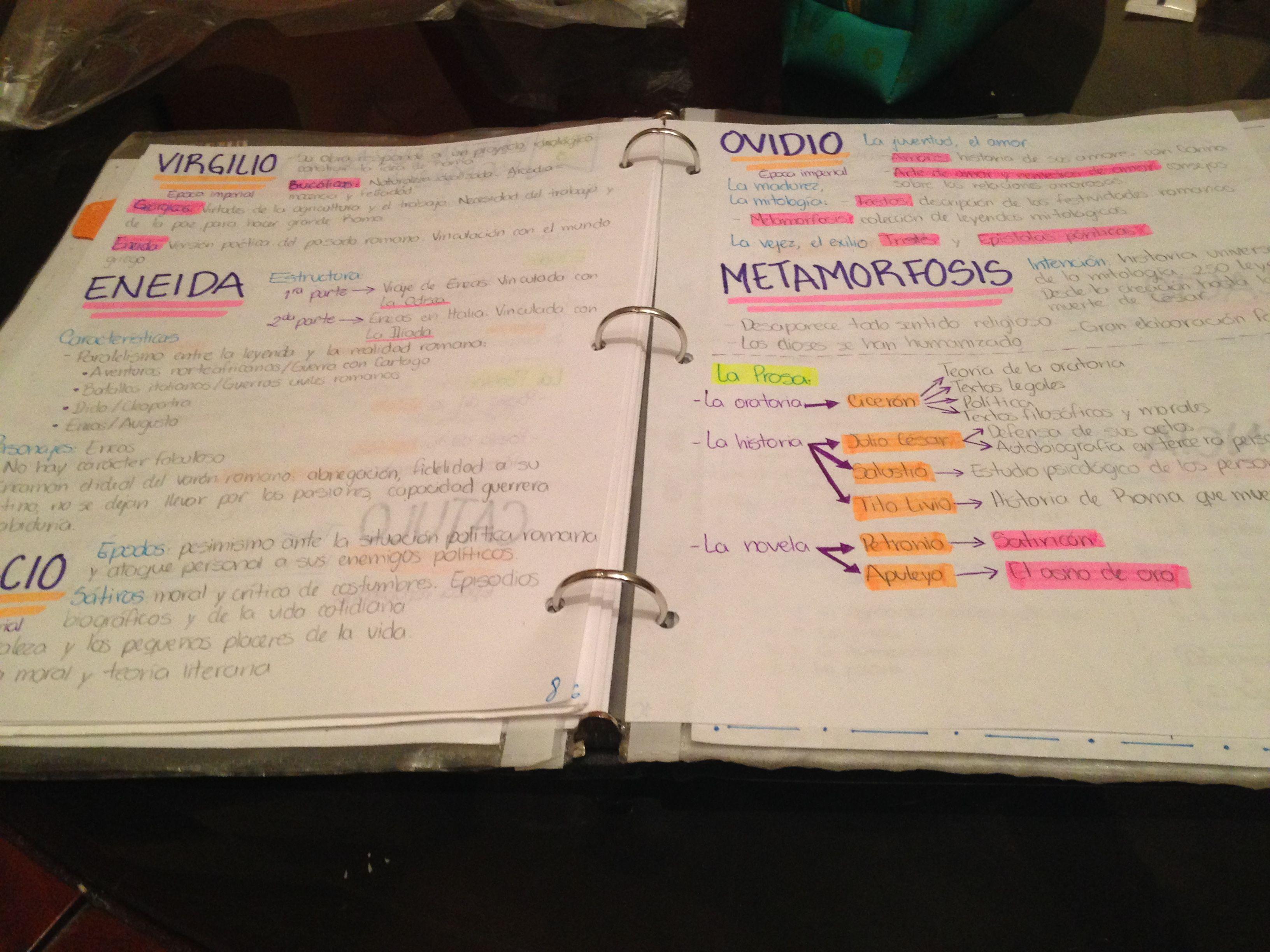 Studynotes Notesinspiration School College Organize