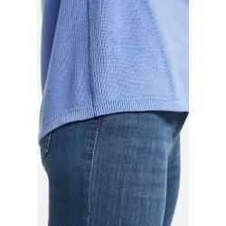 Photo of Pullover mit Struktur-Mix Blau Gerry Weber
