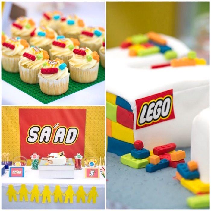 Joint Lego Birthday Party | Lego birthday party, Legos and Birthdays