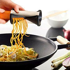 Vegetable Slicer Spiralize Zucchini Spaghetti Pasta Zoodle Maker