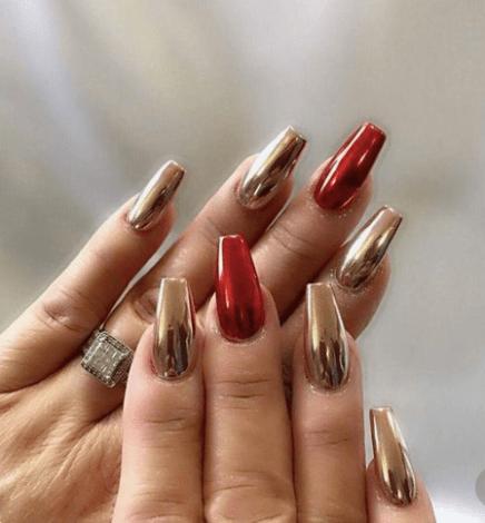 holiday nail design