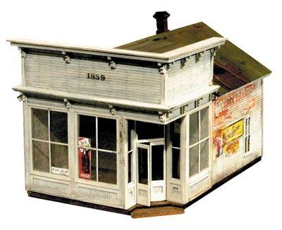 Silver Plume Bakery Model Kit Ho Scale Structure Model