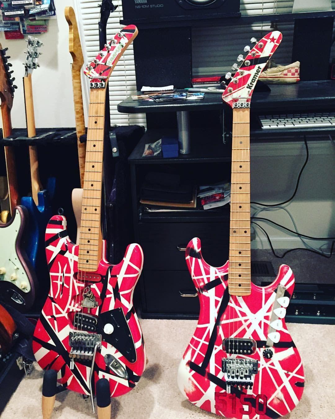 Pin By Kevin Doucette On Guitar Designs Guitar Artwork Cool Guitar Eddie Van Halen