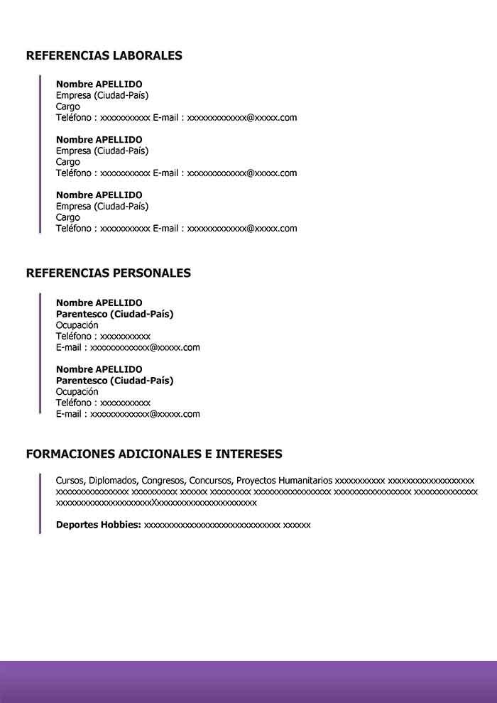Plantilla De Curriculum Online Gratis Para Word Cv Online Doc Curriculum Vitae Words Curriculum